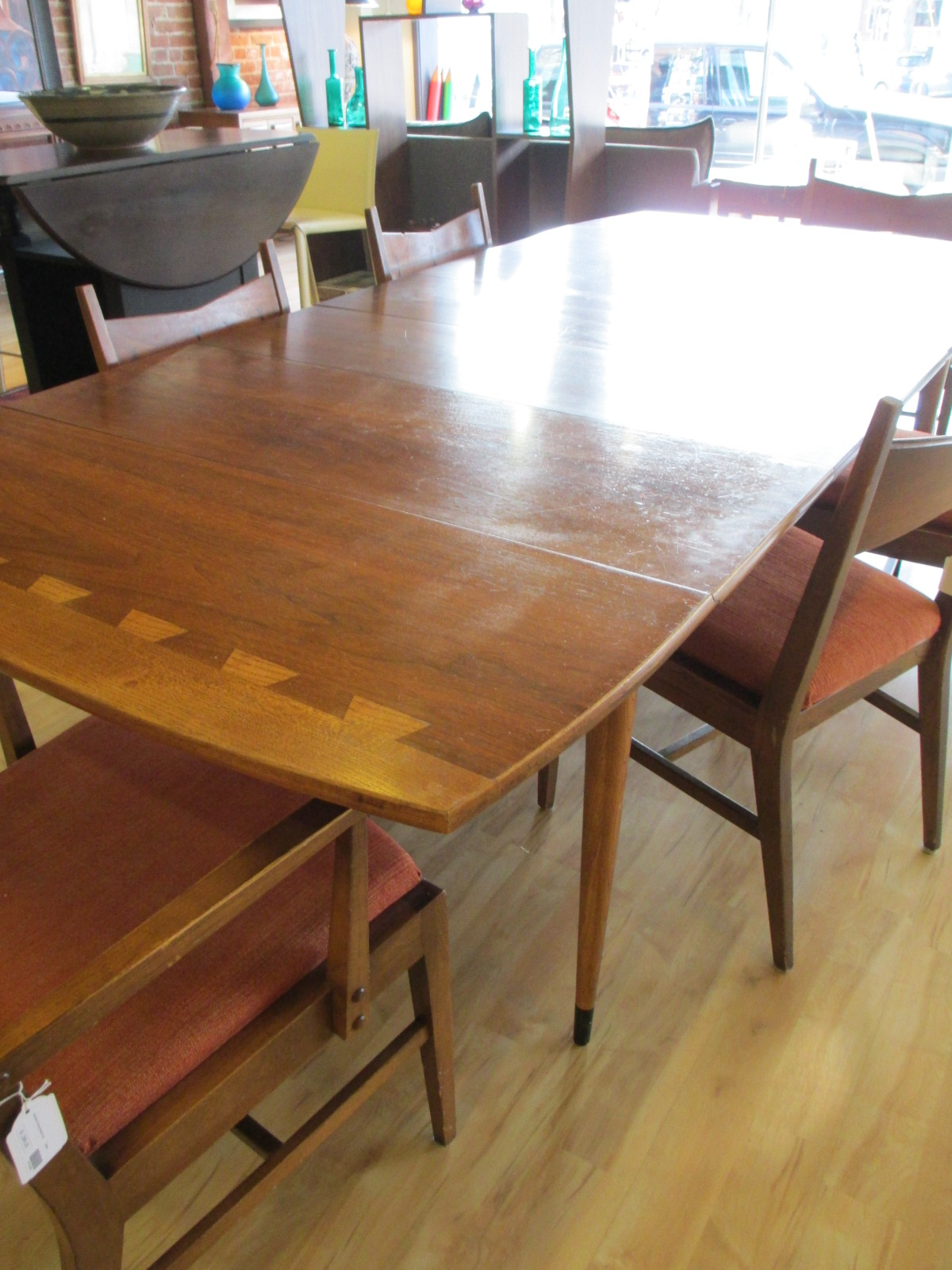 Lane mid century dining table w chairs sold ballard