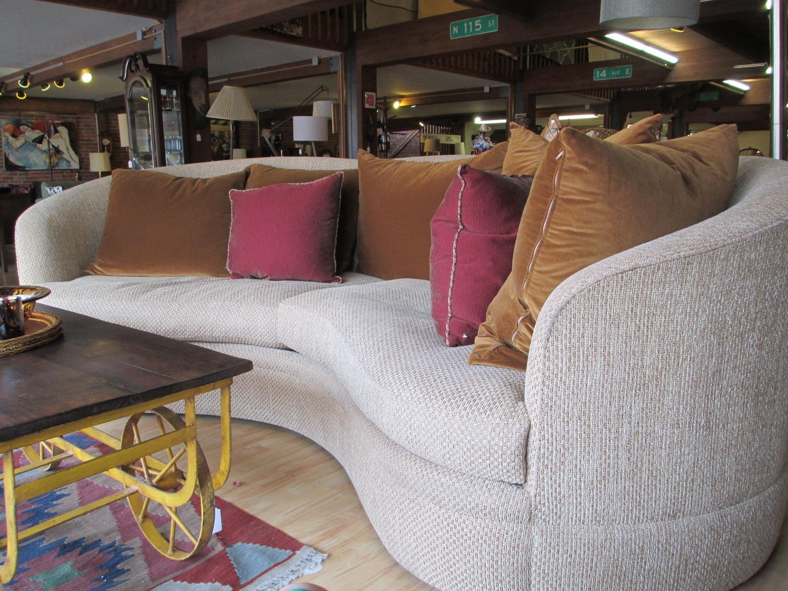 Greenbaum Kidney Shaped Sofa – SOLD