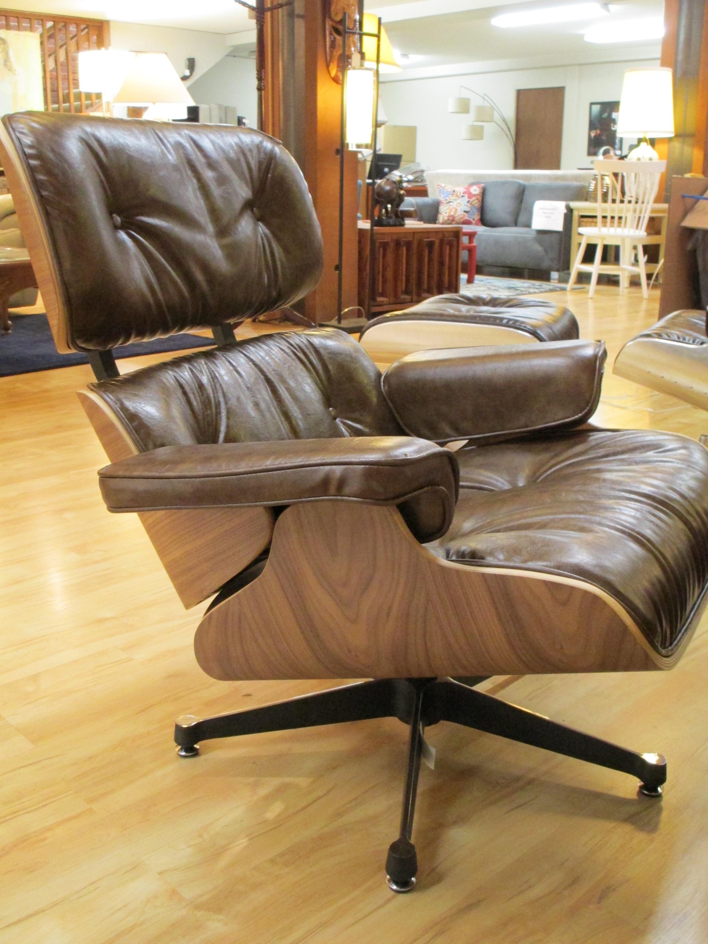 Manhattan Bentwood Lounge Chair W/ Ottoman U2013 SOLD