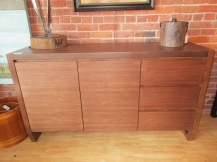 Mid Century Walnut Sideboard $695, Item #71108