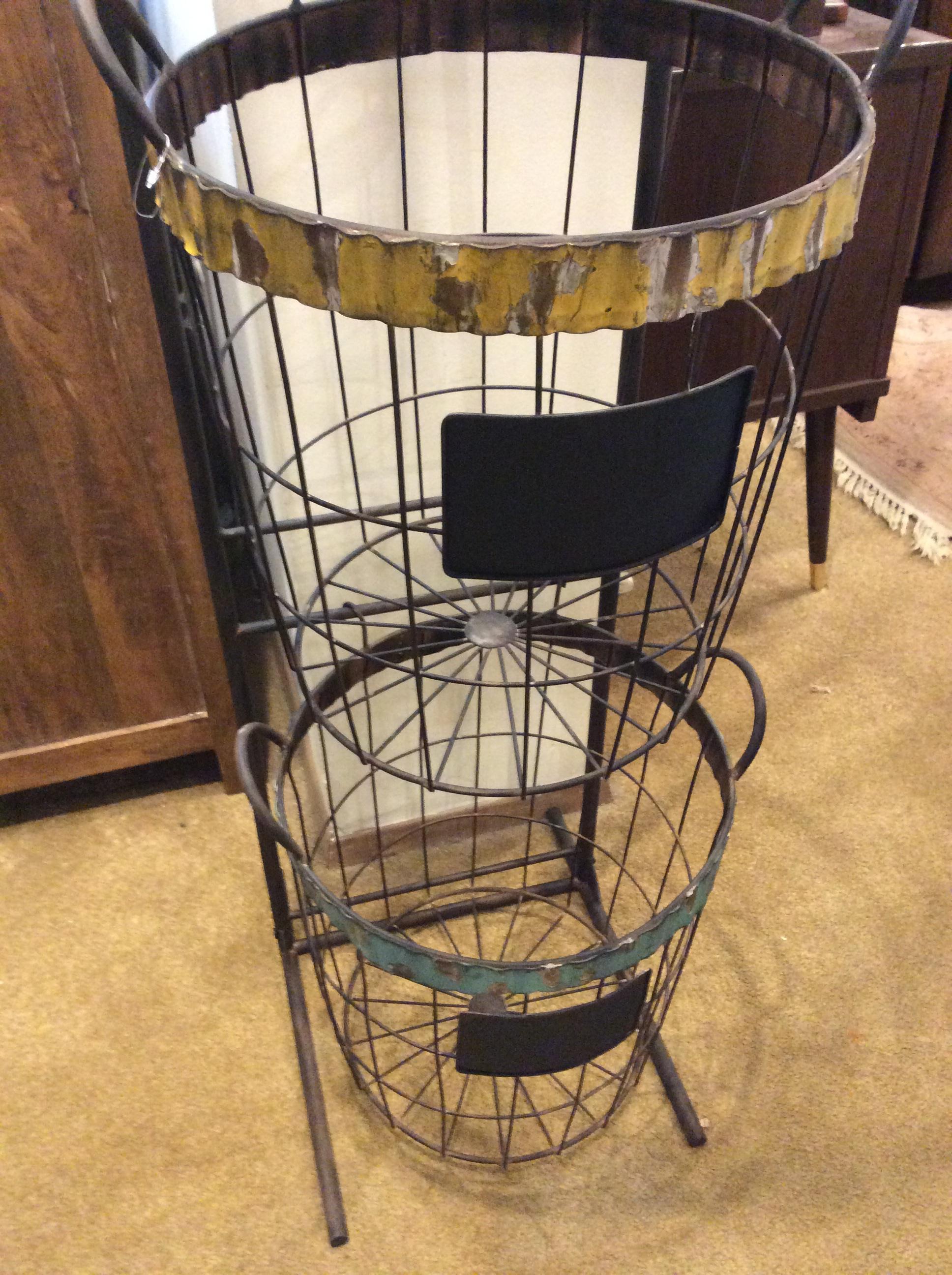Metal Fruit Basket Stand 125 Ballard Consignment