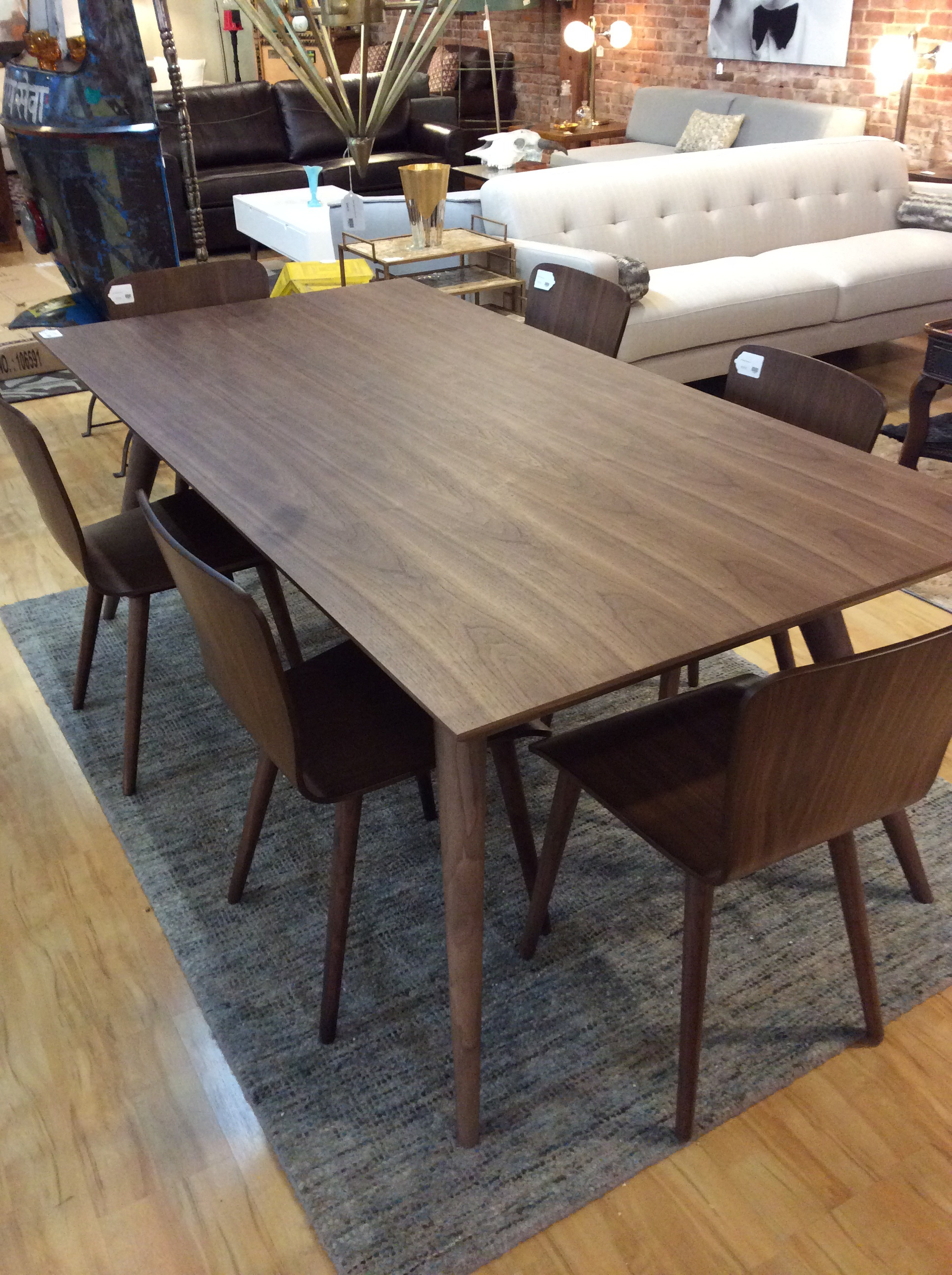 Mid Century Style Dining Table $695 – Ballard Consignment