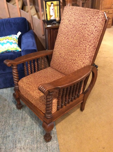 Super Antique Morris Chairs 550 Sold Ballard Consignment Gamerscity Chair Design For Home Gamerscityorg