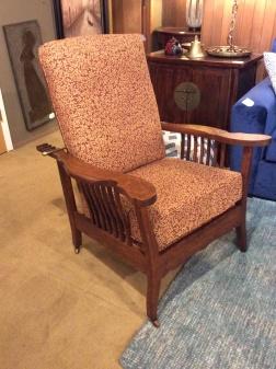 Astounding Antique Morris Chairs 550 Sold Ballard Consignment Gamerscity Chair Design For Home Gamerscityorg
