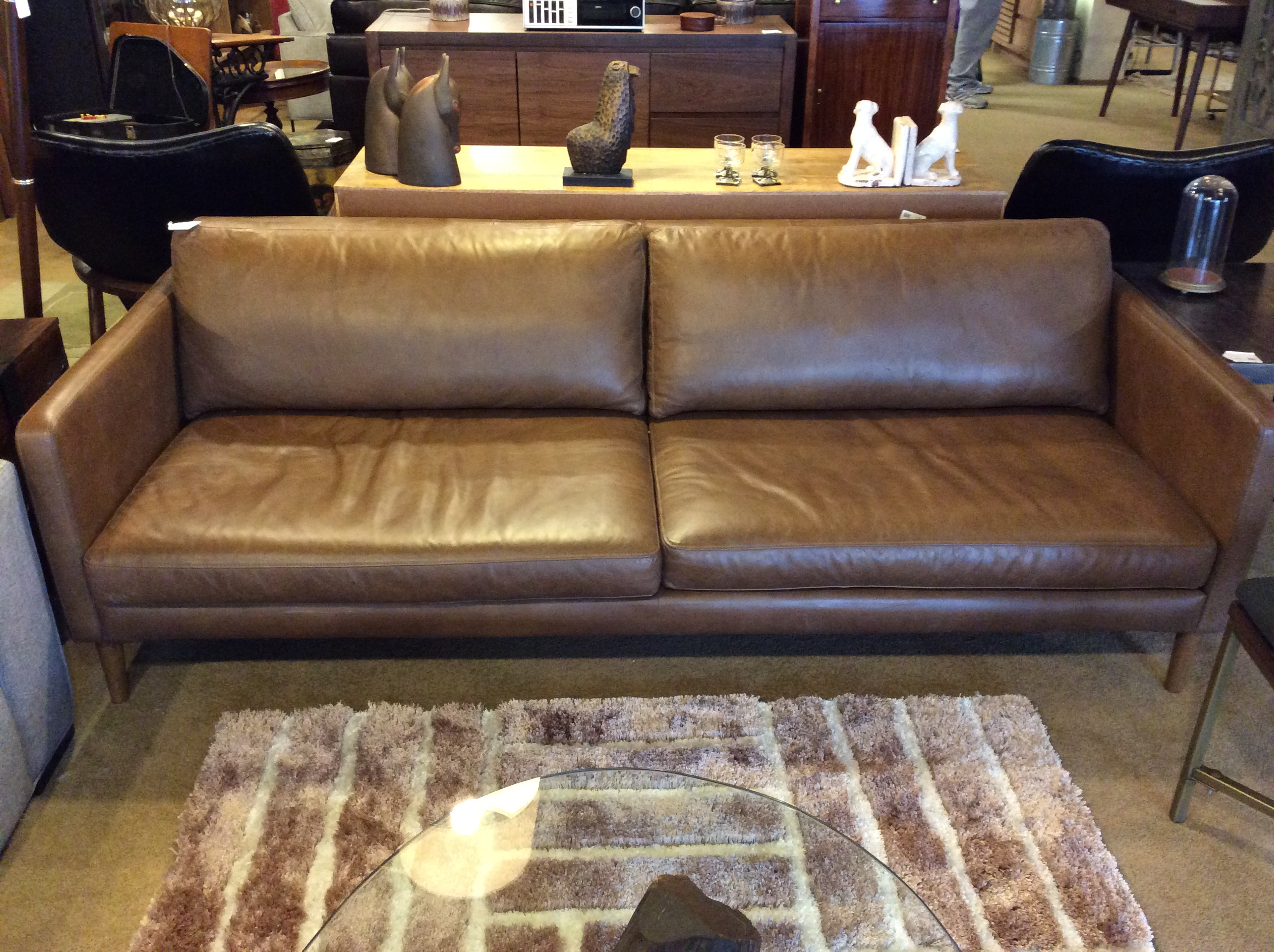 Ballard Upholstery 28 Images Brown Leather Sofa 850