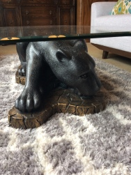 panther coffee table $700 sold – ballard consignment