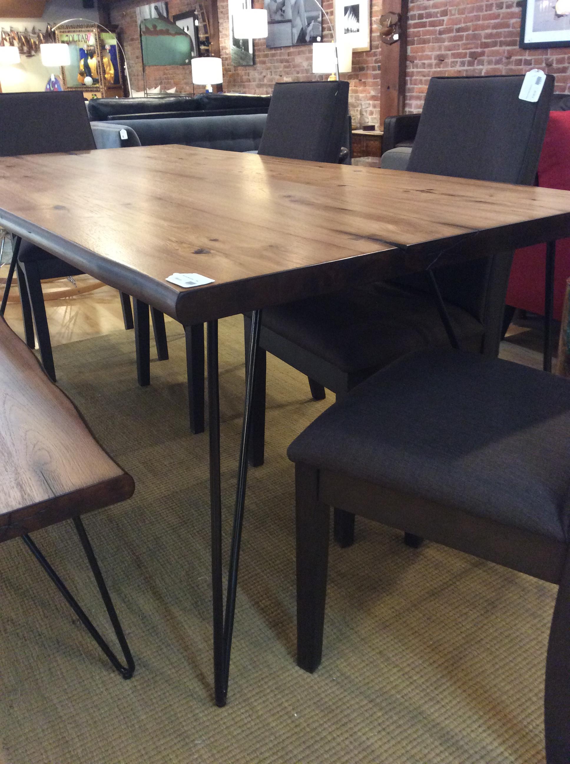 Hairpin Leg Dining Table 595 Ballard Consignment