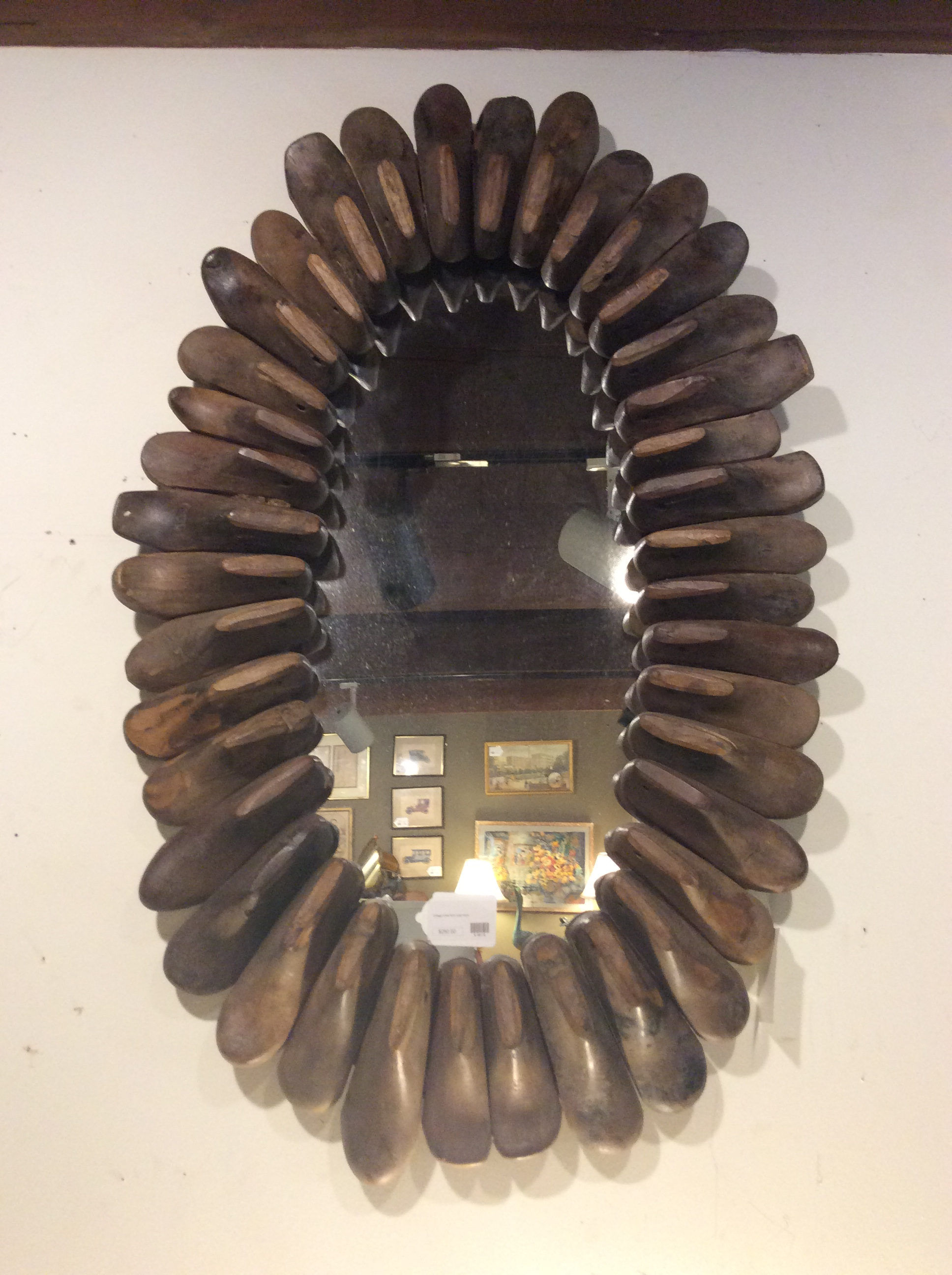Shoe Form Mirror 250 Ballard Consignment