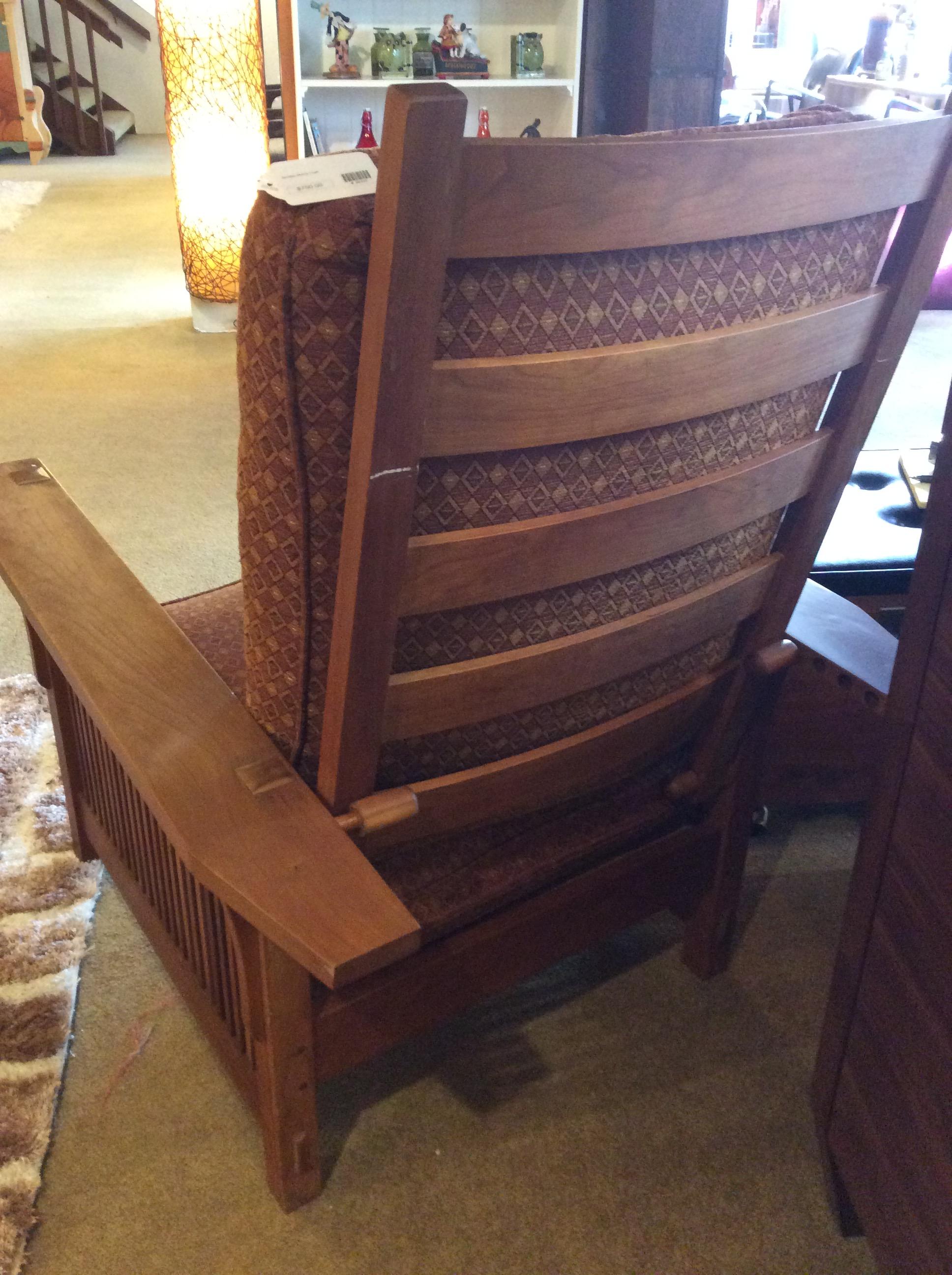Stickley Morris Chair 750 Sold Ballard Consignment