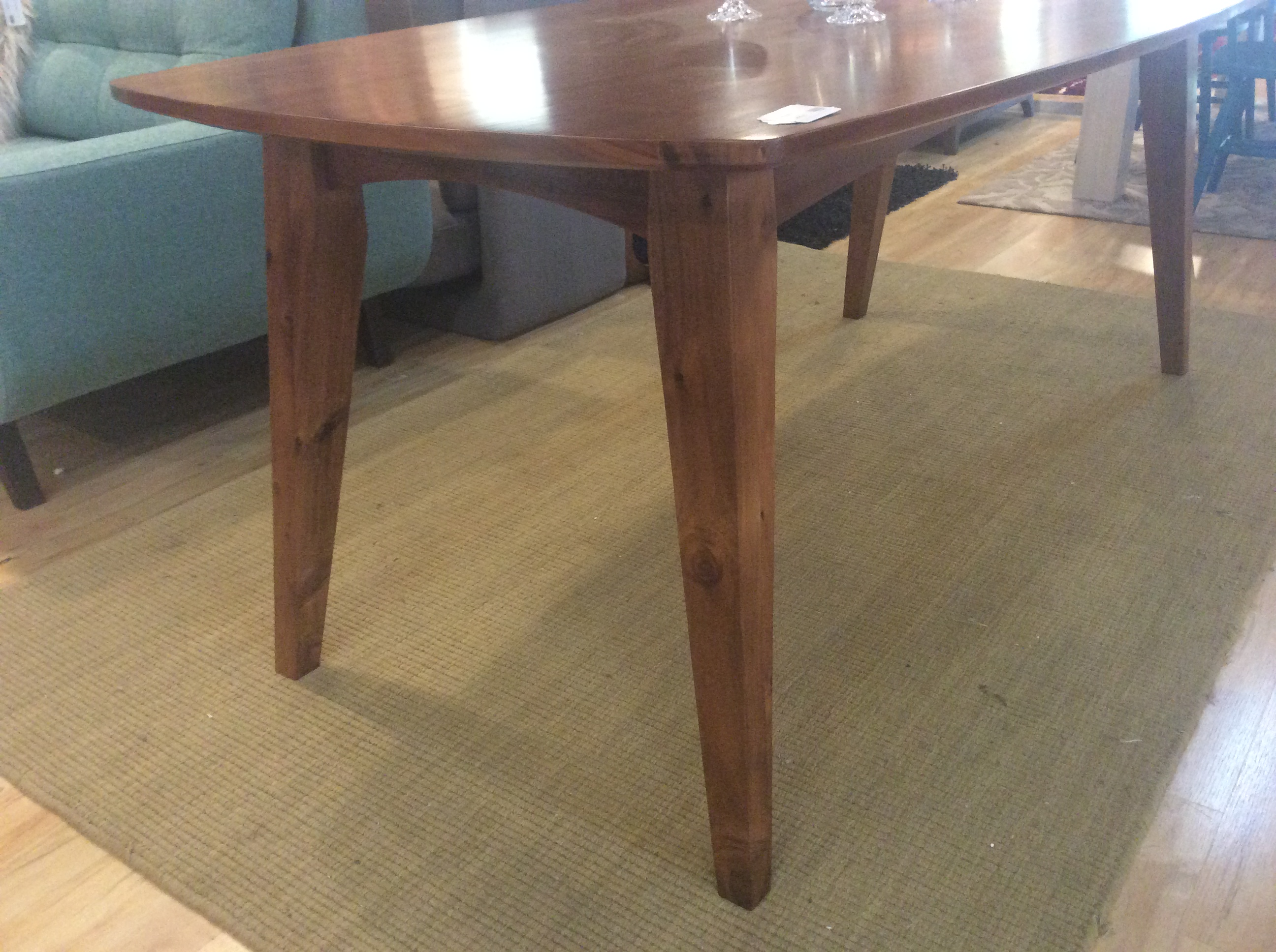 Mid Century Style Dining Table 695 Ballard Consignment