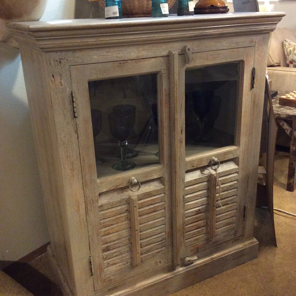 Distressed Cabinet $450 - Ballard Consignment – 5459 Leary Ave NW Seattle, WA 98107