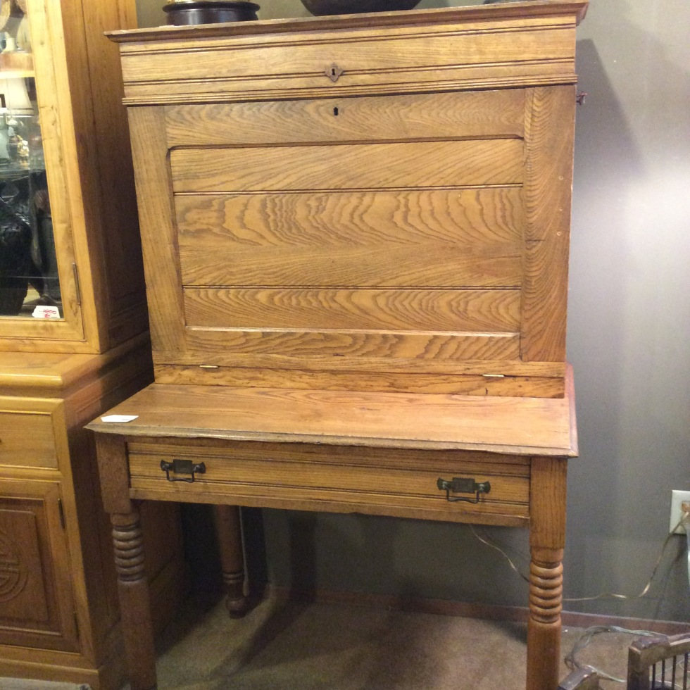Antique Desk $350 - Ballard Consignment – 5459 Leary Ave NW Seattle, WA 98107